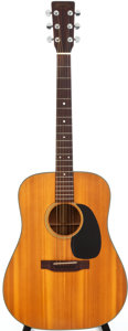 Musical Instruments:Acoustic Guitars, 1973 Martin D-18 Natural Acoustic Guitar, Serial # 318206....