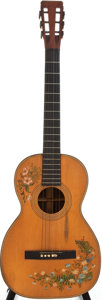Musical Instruments:Acoustic Guitars, Early 1900's G. R. Martin Natural Parlor Acoustic Guitar....