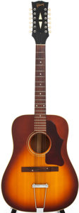 Musical Instruments:Acoustic Guitars, 1967 Gibson B45-12 Sunburst Acoustic Guitar, Serial # 831501....