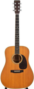 Musical Instruments:Acoustic Guitars, 1966 Martin D-35 Natural Acoustic Guitar, Serial # 215781....