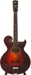 Musical Instruments:Acoustic Guitars, 1920 Gibson Style O Artist Sunburst Acoustic Guitar, Serial #63262....