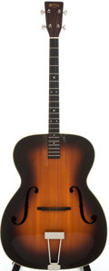 Musical Instruments:Acoustic Guitars, 1938 Martin C-1T Sunburst Acoustic Tenor Guitar, Serial # 71175....