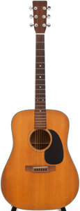 Musical Instruments:Acoustic Guitars, 1974 Martin D-18 Natural Acoustic Guitar, Serial # 344318....