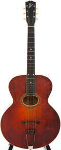 Musical Instruments:Acoustic Guitars, 1917 Gibson L4 Sunburst Archtop Acoustic Guitar, Serial # 37865....