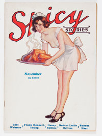 Spicy Stories V7#12 (King Publishing Co., 1932) Condition: FN-