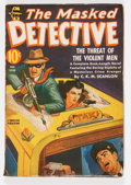 Pulps:Detective, The Masked Detective V2#2 (Better Publications, 1941) Condition: FN-....