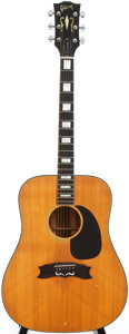 Musical Instruments:Acoustic Guitars, 1972 Gibson Heritage Natural Acoustic Guitar, Serial # 619887....