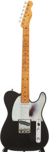 Musical Instruments:Electric Guitars, 1956 Fender Telecaster Refinished Solid Body Electric Guitar,Serial #14670....