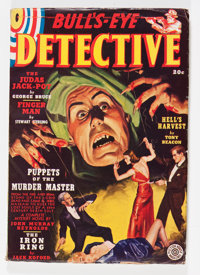 Bull's-Eye Detective V1#1 (Fiction House, 1938) Condition: FN