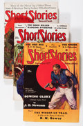 Pulps:Anthology, Short Stories Group (Short Stories Inc., 1924-37) Condition: Average FN.... (Total: 6 Comic Books)