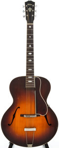 Musical Instruments:Acoustic Guitars, 1938 Gibson L4 Sunburst Archtop Acoustic Guitar, Serial # 95545....