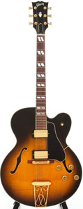 Musical Instruments:Electric Guitars, 1992 Gibson ES-350-T Sunburst Semi-Hollow Body Electric Guitar,Serial # 90922340....