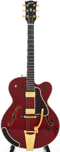 Musical Instruments:Electric Guitars, 1992 Gibson Chet Atkins Country Gentleman Cherry Semi-Hollow BodyElectric Guitar, Serial # 93282432....