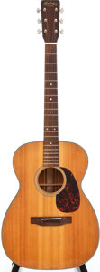 Musical Instruments:Acoustic Guitars, 1965 Martin 00-18 Natural Acoustic Guitar, Serial # 206852....