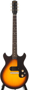 Musical Instruments:Electric Guitars, 1964 Gibson Melody Maker Sunburst Solid Body Electric Guitar, Serial # 241231....