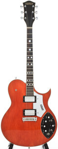 Musical Instruments:Electric Guitars, 1979 Gretsch Super AXE/7680 Orange Solid Body Electric Guitar,Serial # 19379....