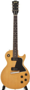 Musical Instruments:Electric Guitars, 1958 Gibson Les Paul Special TV Yellow Solid Body Electric Guitar,Serial # 8 4775....
