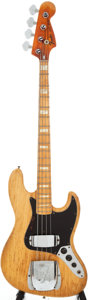Musical Instruments:Bass Guitars, 1976 Fender Jazz Bass Refinished Electric Bass Guitar, Serial # 7631754....