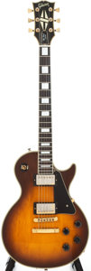 Musical Instruments:Electric Guitars, 1987 Gibson Les Paul Custom Lite Sunburst Electric Guitar, Serial #82047513....