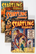 Pulps:Science Fiction, Startling Stories Group (Standard, 1939-50) Condition: AverageVG/FN.... (Total: 7 Comic Books)