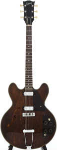 Musical Instruments:Electric Guitars, 1974 Gibson ES-325 Brown Stain Semi-Hollow Body Electric Guitar,Serial # 127483....