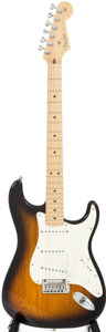 Musical Instruments:Electric Guitars, 2003 Fender Strat Sunburst Solid Body Electric Guitar, Serial #Z3225427....