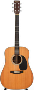 Musical Instruments:Acoustic Guitars, 1985 Martin HD-28 Natural Acoustic Guitar, Serial # 454657....