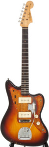 Musical Instruments:Electric Guitars, 1959 Fender Jazzmaster Sunburst Solid Body Electric Guitar, Serial#33636....