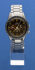 Timepieces:Wristwatch, Omega Rare 2998-1 Pre-Professional Speedmaster, Chocolate BrownDial For Restoration. ...