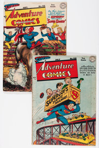 Adventure Comics 130 and 132 Group (DC, 1948).... (Total: 2 Comic Books)