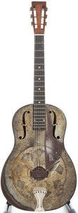 Musical Instruments:Resonator Guitars, 1928 National Duolian Crystaline Resonator Guitar, #C5420....