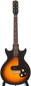 Musical Instruments:Electric Guitars, 1964 Gibson Melody Maker 3/4 Sunburst Solid Body Electric Guitar, #183156....