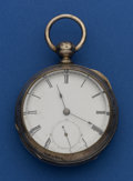 "Timepieces:Pocket (pre 1900) , ""Howard, Davis, Dennison"" Roxbury No. 3 Interesting Swiss EarlyAmerican Fake. ..."