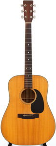 Musical Instruments:Acoustic Guitars, 1973 Martin D-18 Natural Acoustic Guitar, #328225....