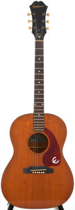 Musical Instruments:Acoustic Guitars, 1965 Epiphone FT30 Natural Acoustic Guitar, Serial # 258060....