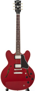 Musical Instruments:Electric Guitars, 1994 Gibson ES-335 Cherry Semi-Hollow Body Electric Guitar, Serial# 93185488....