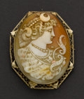 Estate Jewelry:Cameos, Exquisite Early Shell Cameo. ...