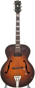 Musical Instruments:Electric Guitars, 1941 Gibson ES-300 Sunburst Semi-Hollow Body Electric Guitar ...