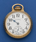 Timepieces:Pocket (post 1900), Illinois 21 Jewel Sixty Hour Bunn Special. ...