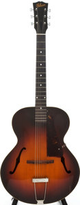 Musical Instruments:Acoustic Guitars, Circa 1946 Gibson L-48 Sunburst Archtop Acoustic Guitar, SerialNumber #None....