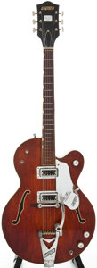 Musical Instruments:Electric Guitars, 1968 Gretsch Tennessean Brown Stain Semi-Hollow Body ElectricGuitar, Serial # 28228....