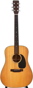 Musical Instruments:Acoustic Guitars, 1972 Martin D-18 Natural Acoustic Guitar, #311241....
