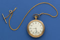 Timepieces:Pocket (post 1900), Hamilton 21 Jewel 940 With Chain. ...
