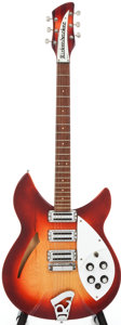 Musical Instruments:Electric Guitars, 1966 Rickenbacker 330 Sunburst Semi-Hollow Body Electric Guitar,#FJ3617....