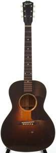 Musical Instruments:Acoustic Guitars, 1930's Gibson L-1 Sunburst Acoustic Guitar, #393....