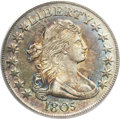 Early Half Dollars, 1805 50C AU50 ANACS. O-112, R.2....