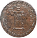 Colonials, 1789 TOKEN Mott Token, Thin Planchet, Engrailed Edge MS61 Brown PCGS. Breen-1025....
