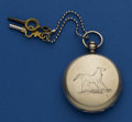 Timepieces:Pocket (pre 1900) , T.F. Cooper Running Silver Key Wind. ...