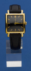 Timepieces:Wristwatch, Tiffany Gold Waterproof Automatic By Eterna. ...