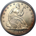 Proof Seated Half Dollars, 1889 50C PR65 PCGS....